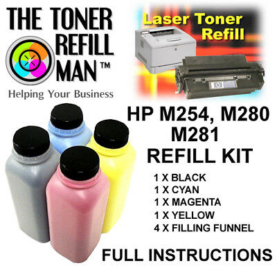 £28.60 • Buy Toner Refill Kit For Use In HP Colour LaserJet M280nw,M281fdn,M281fdw Printers