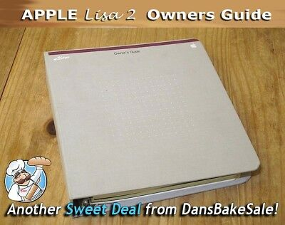 £280.74 • Buy Apple Lisa 2  Vintage Owners Guide In  Binder Published In 1983 - Very Rare!