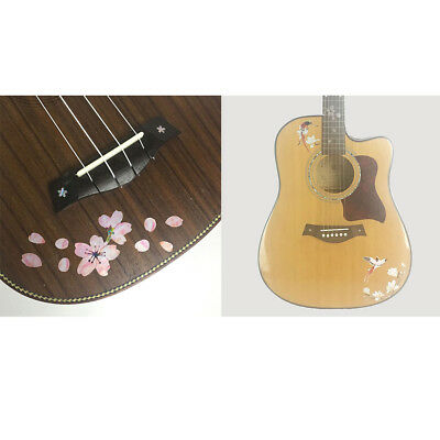 2pcs Inlay Decal Sticker For Guitar Bass Ukulele String Instrument Parts • 5.55£