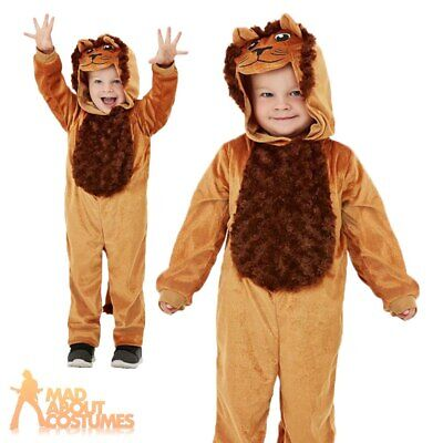 £12.99 • Buy Kids Lion Costume Jungle Book Week Day Boys Girls Toddler Fancy Dress Outfit