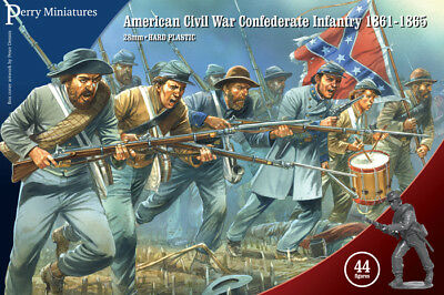 £18.99 • Buy American Civil War Confederate Infantry - Perry Miniatures - Sent 1st Class