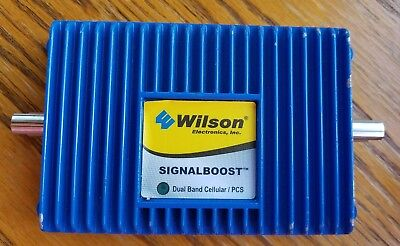 $29 • Buy Wilson SIGNALBOOST Dual Band Cellular / PCS  800/1900 MHz Signal Booster 811210.