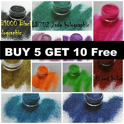 Glitter POTS Cosmetic Fine Dust Nail Eye Shadow Cosmetic L@@K..BUY 5 GET 10 FREE • 1.39£