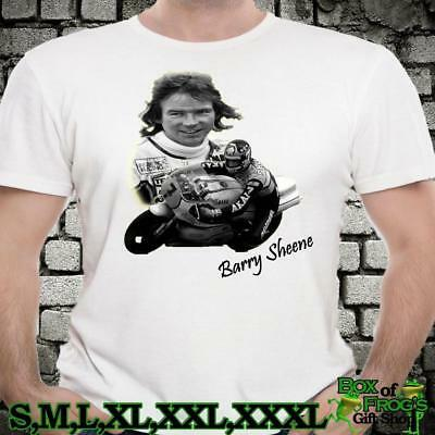 Retro Icon Barry Sheene Motorcycle Race Bike Legend Tshirt Gift Unofficial • 10.99£