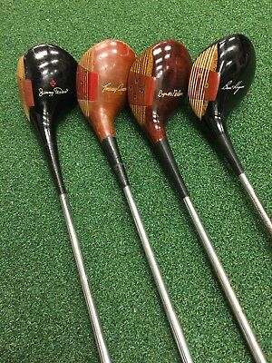 $ CDN119.37 • Buy 4 1950-60 MacGregor Armour Hogan Nelson Demaret Persimmon 2 Wood