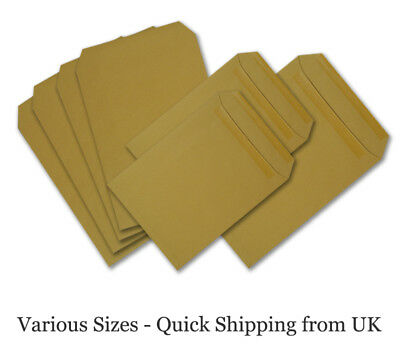 £1.89 • Buy Best Quality Brown C4 C5 DL Size Bussiness Manilla Envelopes Fast&Free Delivery