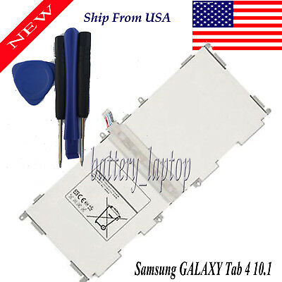 $18.31 • Buy Replace Battery For Samsung Galaxy Tab 4 10.1  SM-T537 SM-T530NU SM-T530NYKAXAR