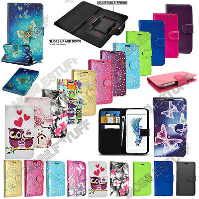 Universal Leather Wallet Case Cover Book -For Alcatel 1 5033X Smart Mobile Phone • 3.35£