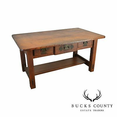 Stickley Library Table