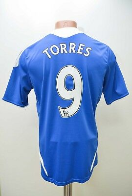 Chelsea 2011/2012 # 9 Torres Home  Football Shirt Jersey Adidas Size S Adult • 74.99£
