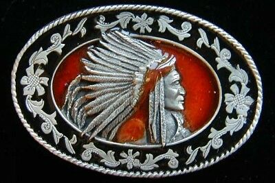 $12.95 • Buy Small Chiefs Head Western Style Belt Buckle Childrens New!