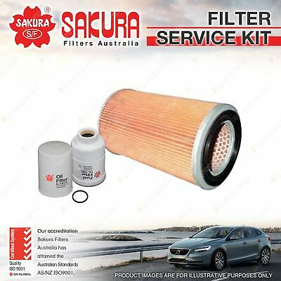 AU66.95 • Buy Sakura Oil Air Fuel Filter Service Kit For Nissan Terrano II R20 2.7L TD 97-00