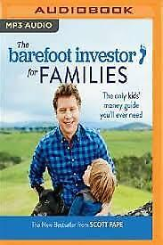AU31.99 • Buy NEW The Barefoot Investor For Families By Scott Pape CD In MP3 Format