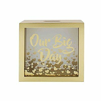 Our Big Day Money Box / Piggy Bank Ideal For Wedding Funds • 11.95£
