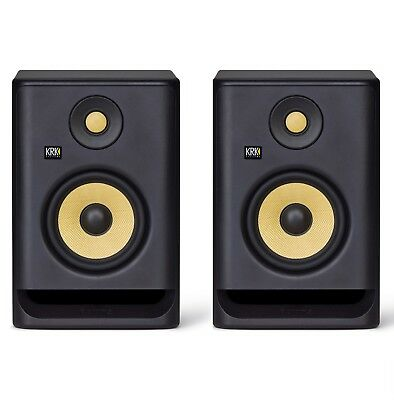 2x KRK ROKIT RP5 G4 - 5  Studio Monitor Speaker PAIR *NEW GENERATION* • 296£