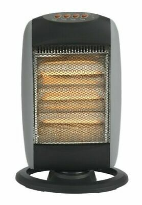 £24.99 • Buy 1200W Portable Home & Office Electric Oscillating Halogen Heater 3 Heat