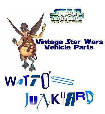 $ CDN31.74 • Buy Vintage Star Wars Parts For Vehicles - Complete Your Ship - Pick Your Part