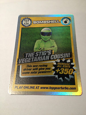Top Gear Turbo Challenge Super Rare 423 Bombshell - Stig's Vegetarian Cousin! • 3.95£