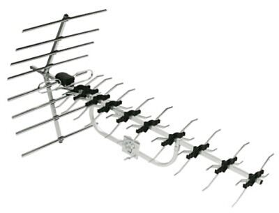 £33.92 • Buy Outdoor Wideband Mast Mounted Aerial With Fittings UK TV Television UHF Antenna