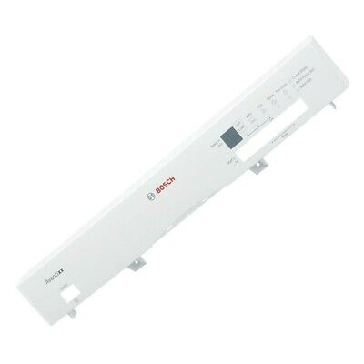 £46.95 • Buy Genuine Bosch Dishwasher Console Front Panel Fascia Frame
