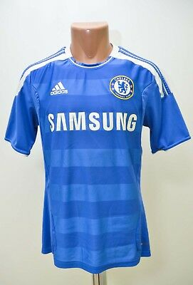 Chelsea 2011/2012 Home  Football Shirt Jersey Adidas Size S Adult • 64.99£