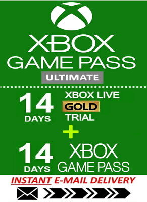 $ CDN2.74 • Buy Xbox Live Gold Xbox Game PASS Ultimate 14 Day 2 Weeks - Instant Delivery 24/7