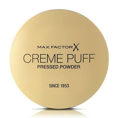 Max Factor Creme Puff Pressed Powder Compact 21g  - Select Shade • 4.45£