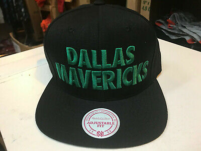 $14.99 • Buy Dallas Mavericks  Authentic Mitchell And Ness NBA The Title Snap Back Hat