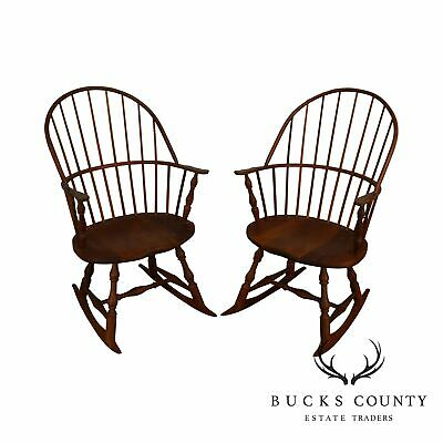 Solid Windsor Chairs
