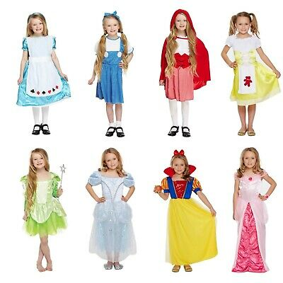 Fancy Dress Costume World Book Day Girls Dressing Up Outfit Book Characters NEW • 8.49£