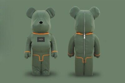 $1099 • Buy Medicom Toy Be@rbrick X Porter 1000% TANKER SAGE Green Special Limited Bearbrick