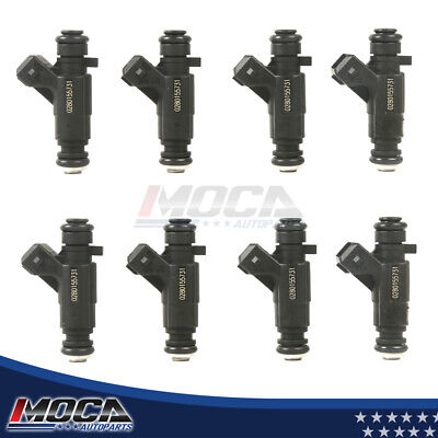$174 • Buy 8pcs Fuel Injector Set Fits 92-04 Chevrolet Camaro Corvette Impala Pontiac NEW