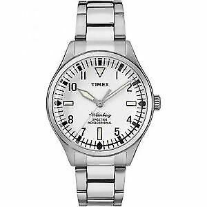 $89.99 • Buy Timex Waterbury TW2R25400 Stainless Steel Analog Indiglo Watch