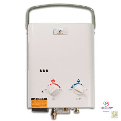 £129.33 • Buy Eccotemp L5 Portable Propane Gas Tankless Water Heater 1.5 GPM Outdoor Camping