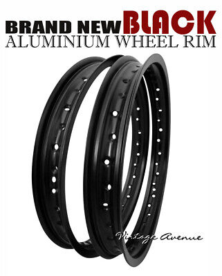 AU148.30 • Buy Kawasaki Kdx200 C1/c2/c3 1986 1987 1988 Aluminium (black) Front + Rear Wheel Rim