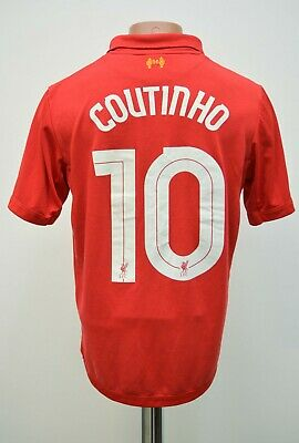 £24.99 • Buy Liverpool 2012/2013 Home Football Shirt Jersey #10 Coutinho Warrior Size M Adult