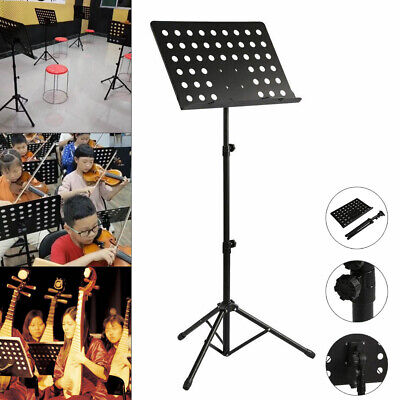 Foldable Music Stand/Holder/ Base Tripod Heavy Duty Orchestral Conductor Stand • 11.69£