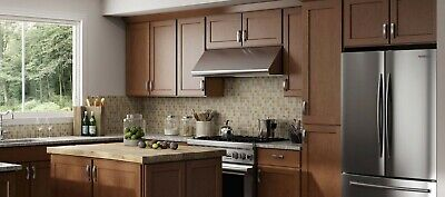 $3299.99 • Buy Fully Assembled - All Wood 10X10 Luxor Shaker Kitchen Cabinets In Cinnamon Brown