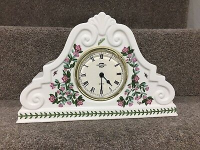 Portmeirion Botanic Garden Mantle Clock • 75£