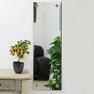 £2.89 • Buy Frameless Unframed Bathroom Mirror With Pre Drilled Holes & Wall Hanging Fixings