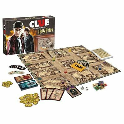 $44.95 • Buy USAopoly NEW * Harry Potter Clue * Board Game Mystery Sealed Hogwarts Wizard NIB