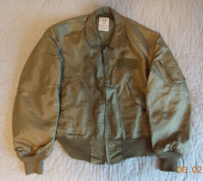 $ CDN145 • Buy US Air Force USAF CWU-36/P Jacket, Nomex, Size Large, By Valley Apparel