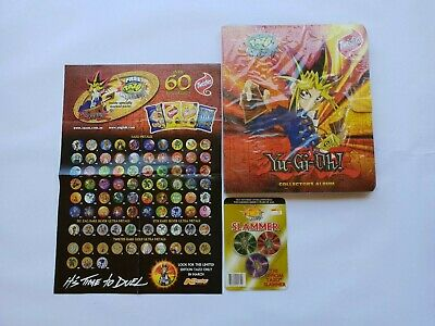 AU140 • Buy 'Yu-Gi-Oh Twisties Tazo Folder 'Sealed' - With A Poster And 'Sealed' Slammers
