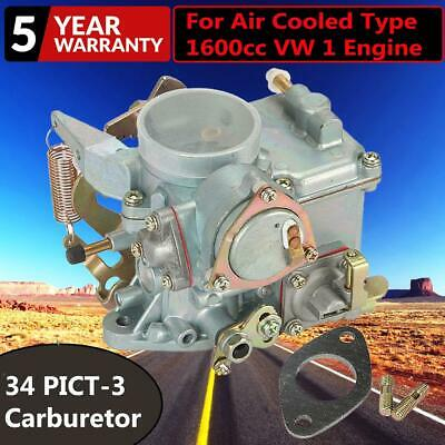 $60.99 • Buy 98-1289-B Carb For Beetle Thing Transporter 34 PICT-3 Engines Carburetor Type 1