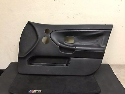 $145 • Buy Bmw E36 M3 ///m Oem Front Right Side Interior Leather Door Card Cover Trim Panel