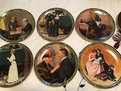 $ CDN650 • Buy 18 Limited Edition Norman Rockwell Collectors Plates, Sold As A Lot Only