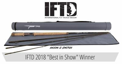 $399.95 • Buy Temple Fork Outfitters Axiom Ii 11' Ft 6 Wt 4pc Switch Fly Rod +case Free Ship