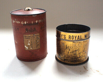 Antique Bryant & May Matches Vesta Pillar Box Post Vintage Tin 1890's Vintage  • 175£