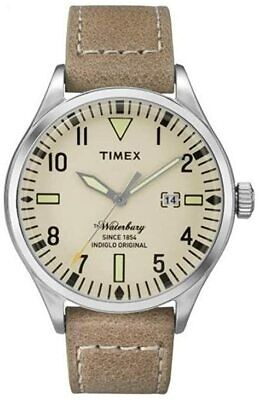 $99.99 • Buy Timex 40mm Watch TW2P83900 Waterbury Watch Indiglo USA SELLER