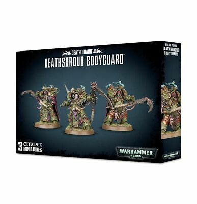 Death Guard Deathshroud Bodyguard 40k Games Workshop 20% Off UK Rrp • 27.76£
